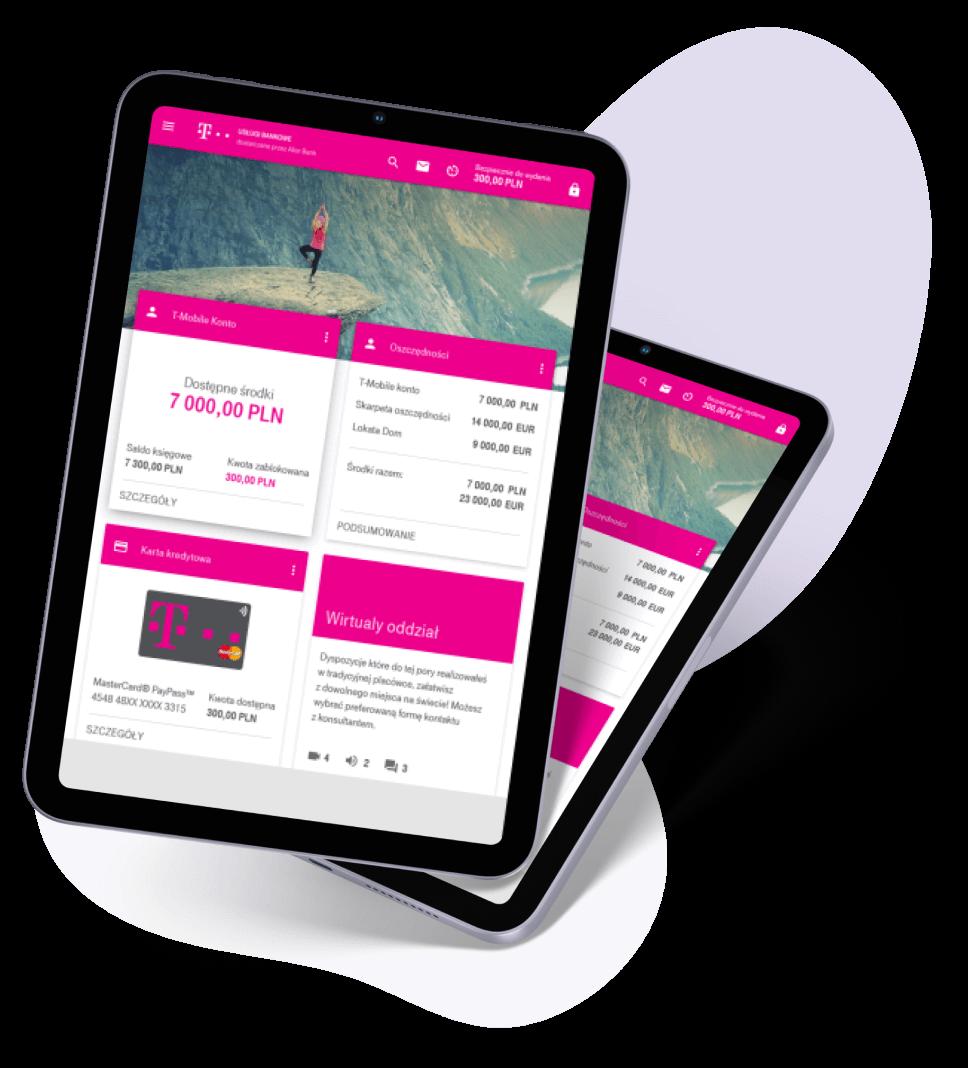 image of online banking platform